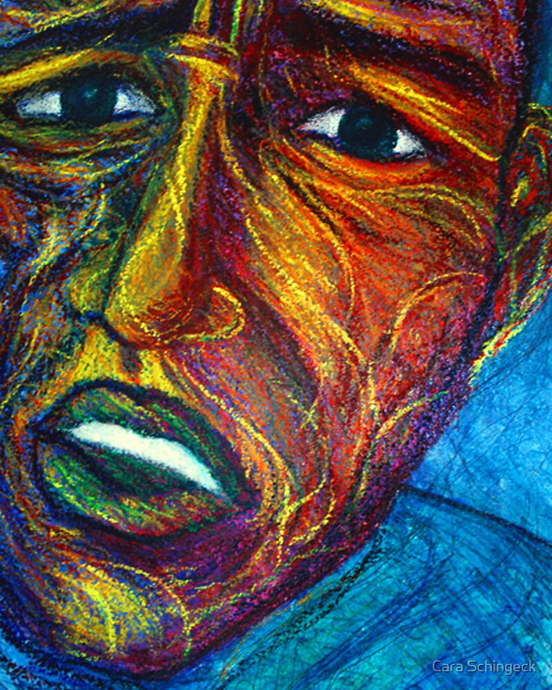 Faces # 2 by Cara Schingeck