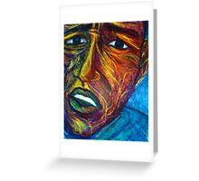 Faces # 2 Greeting Card
