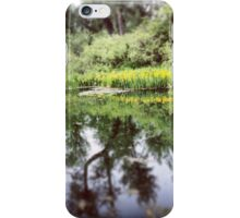 Reflections of the Wetlands  iPhone Case/Skin