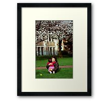 The Happiness of Time Spent With Family 1 Framed Print