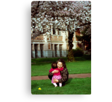 The Happiness of Time Spent With Family 1 Canvas Print