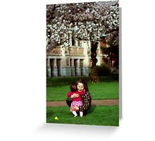 The Happiness of Time Spent With Family 1 Greeting Card