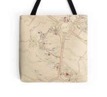 Canberra Acton Map 1933 Tote Bag