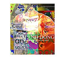 Abstract Expand Dong Photographic Print