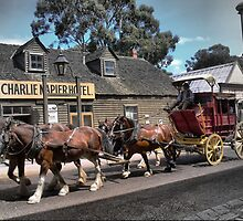 Cobb & Co at Sovereign Hill by cullodenmist