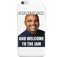 COME ON AND SLAM iPhone Case/Skin