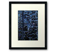 Retro Bullet Corrosion Framed Print