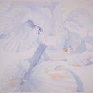 duck still life 1 by Ellen Keagy