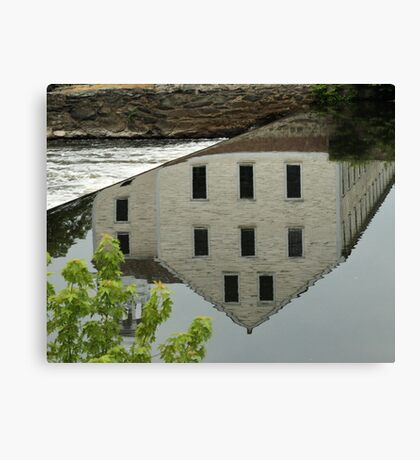 Slater Mill Canvas Print