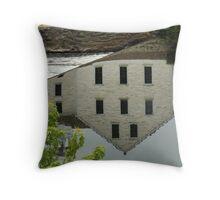 Slater Mill Throw Pillow