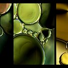 Liquid Metal Drops by Sharon Johnstone