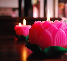 Ornamental Candles in Singapore by rwmilnes
