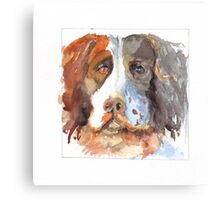 Chief - Andrew Hemsley's Dog Canvas Print