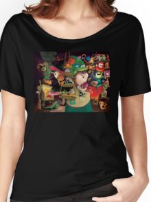 Three Halloween Witches in the kitchen Women's Relaxed Fit T-Shirt