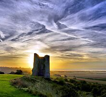 Sketch of Hadleigh Castle mark 2 by Lord William Chard
