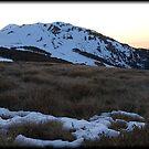 Mount Buller Sunset 2 by Andrew Wilson
