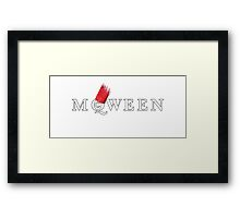All hail the McQWEEN! Framed Print