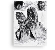 The Angel of Sorrow Canvas Print