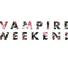 Vampire Weekend Floral by revpooch