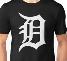 Detroit Old English D (White) Unisex T-Shirt