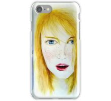 Young and pretty  iPhone Case/Skin