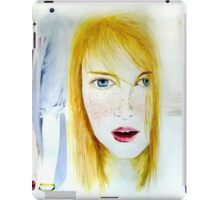 Young and pretty  iPad Case/Skin