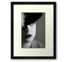 40's Inspiration Framed Print