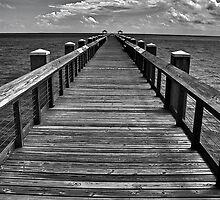 Endless Pier by Phillip  Judy