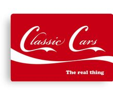 Classic Cars_The real thing Canvas Print