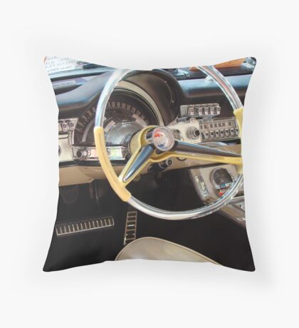 1960 Chrysler 300 Throw Pillow