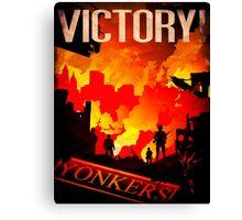 VICTORY! Canvas Print