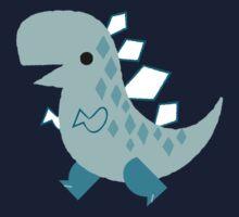 Blue Dino Kids Tee