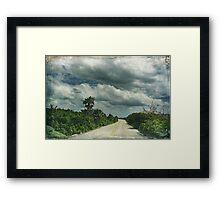 Island Drive Framed Print
