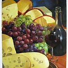 Wine and Cheese by Aziz Mohammed