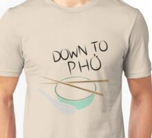Down to Pho Color Unisex T-Shirt