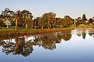Maribyrnong River at Essendon by Darren Stones
