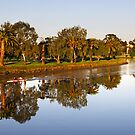 Maribyrnong River at Essendon by Darren Stones