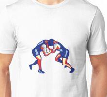 Freestyle Wrestling Retro Unisex T-Shirt