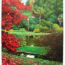 The Love  Garden by Aziz Mohammed