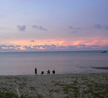 A  Tranquil Torres Strait Sunset by Rebecca Holman