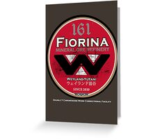"Fiorina ""Fury"" 161 Greeting Card"