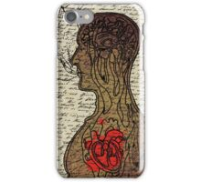 Heart Cooks Brain iPhone Case/Skin