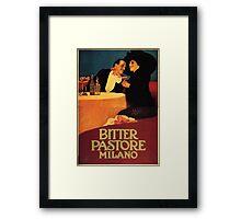 Leopoldo Metlicovitz 1913  Bitter Pastore Framed Print