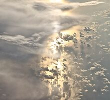 40,000 Foot Sunrise. by Duncan  Wright
