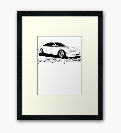 Mazda MX-6 Framed Print