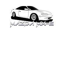Mazda MX-6 Photographic Print
