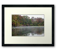 Wekiwa Springs Run Framed Print