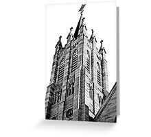 The Bell Tower. Saint Marys Church, Warwick Queensland Greeting Card