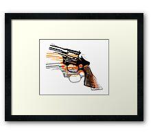 Got Yourself a Gun (Right)... Framed Print