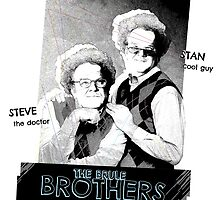 Brule Brothers Portrait Version 3 by tshirtsrus